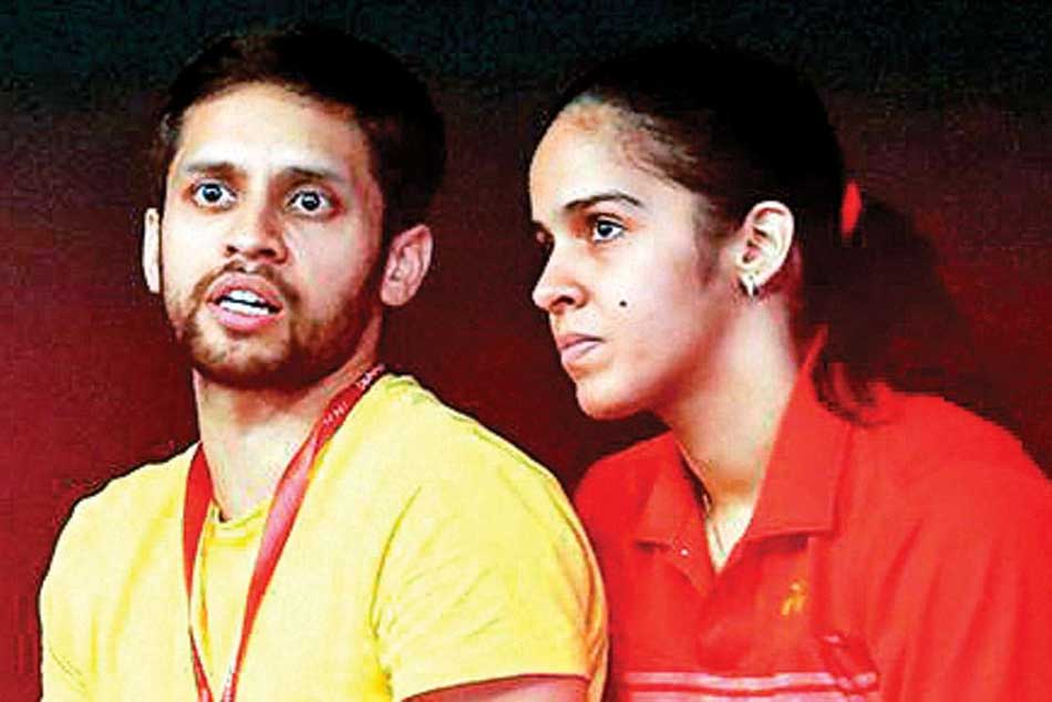 You are playing stupid shots: Kashyap admonishes wife Saina at All England Championships