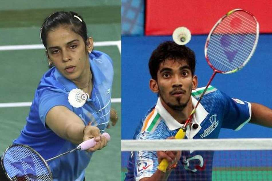All England Championships Saina Nehwal Kidambi Srikanth Enter Quarterfinals