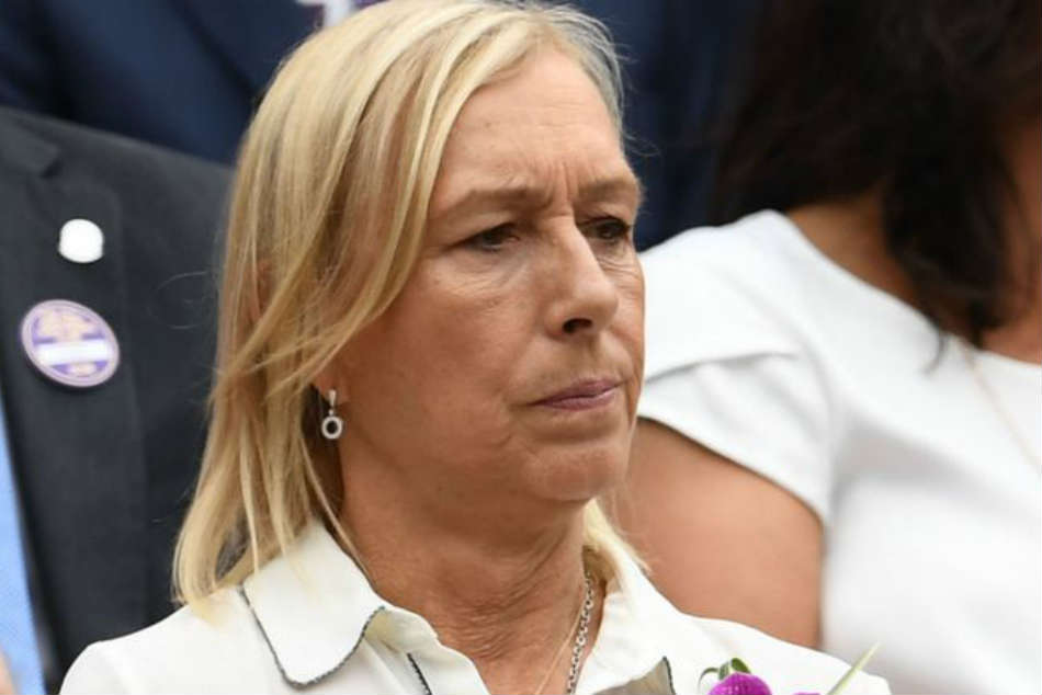 Martina Navratilova Sorry Cheat Comment Only Wants Fairness After Transgender Athlete Row