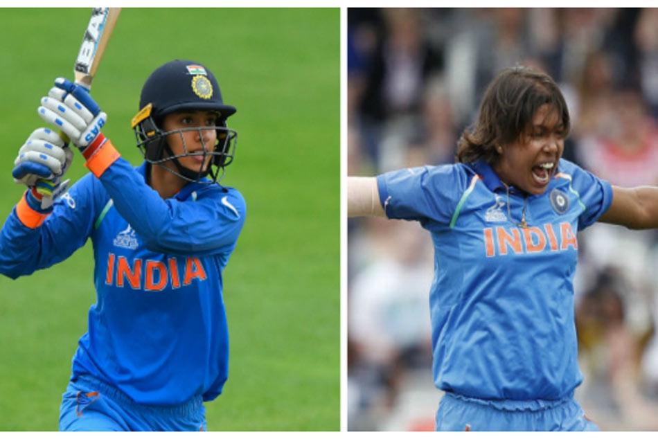 Icc Women S Odi Rankings Smriti Mandhana Jhulan Goswami Stays At Top