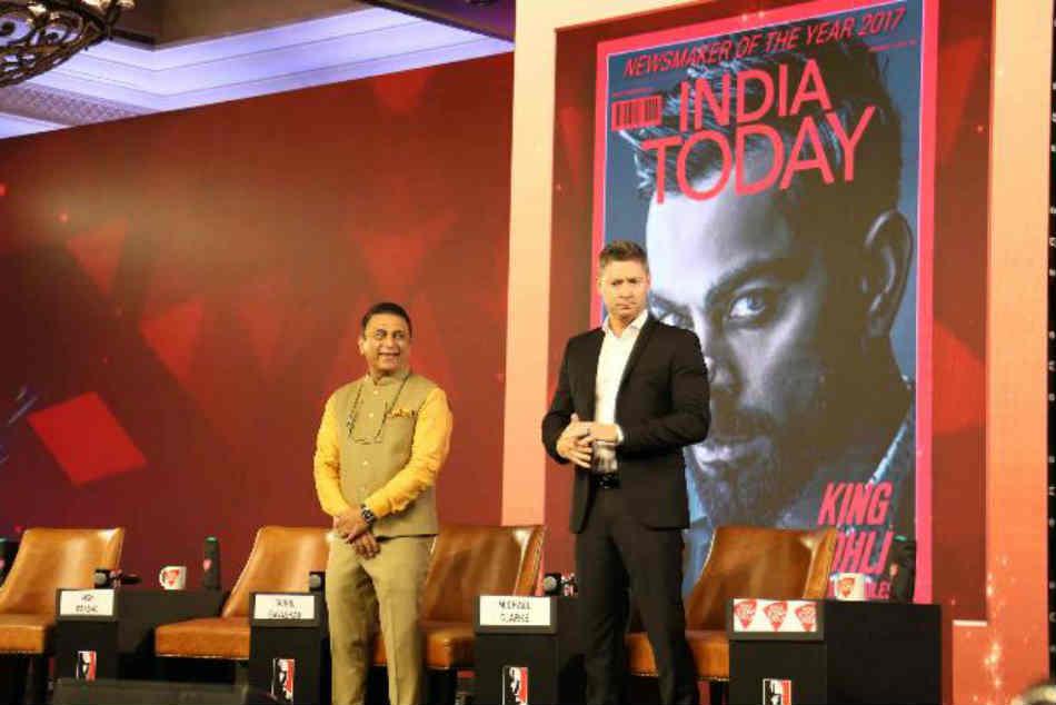 India Today Conclave 2019 Sunil Gavaskar Predicts India Vs England