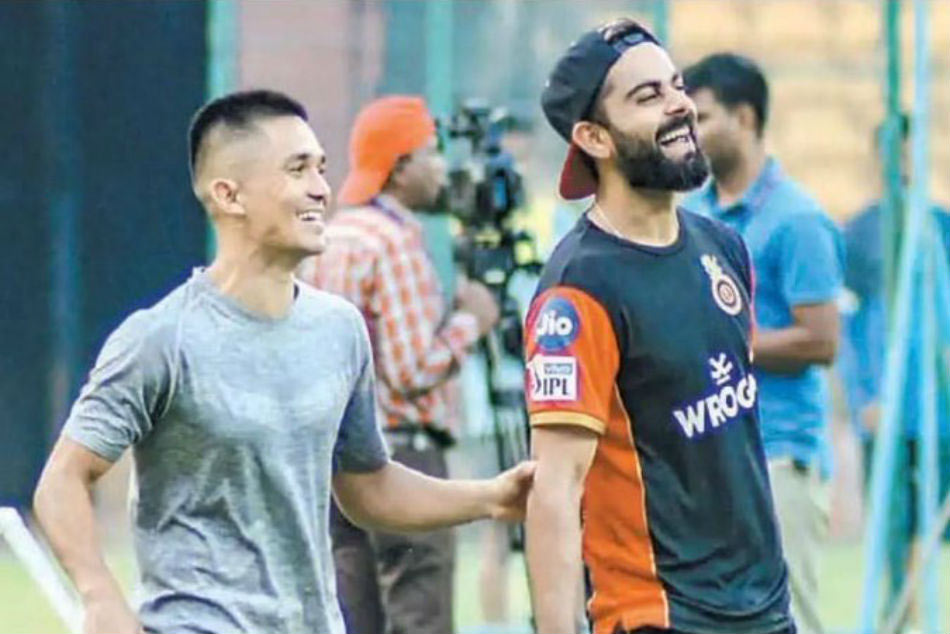 Ipl 2019 Rcb Captain Virat Kohli Thanks Bfc Skipper Sunil Chhetri For Dropping