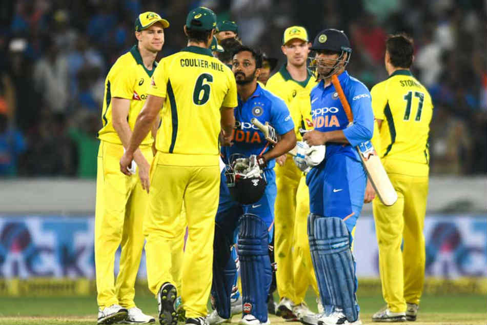India, Australia teams arrive in Nagpur ahead of 2nd ODI