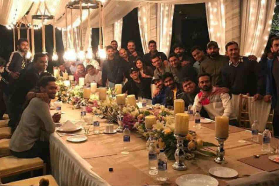 Yuzvendra Chahal Thanks Ms Dhoni Sakshi Dinner Hosted At Ranchi