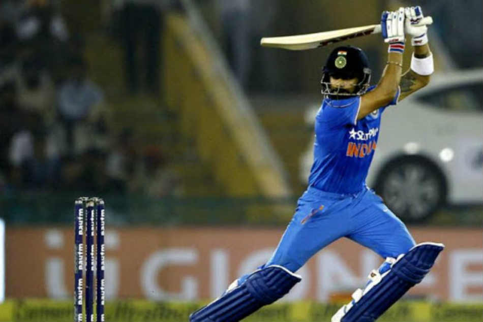 India Vs Australia 4th Odi Virat Kohli Stands Triple Figure Mark
