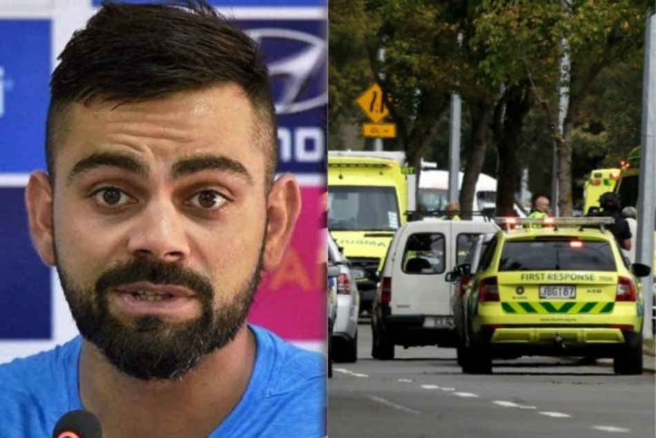 Virat Kohli condemns the terror attack in Christchurch