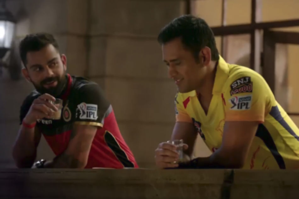 Watch The New Ipl Ad Featuring Virat Kohli Ms Dhoni Not Csk Humour Is The Winner Here