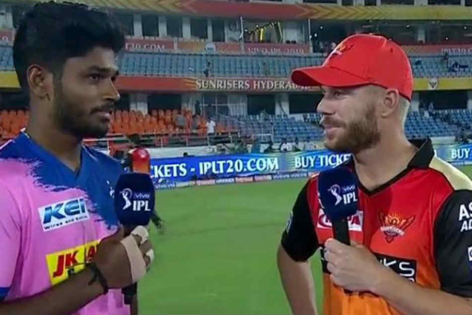 You destroyed my day David: Sanju Samson tells Warner after SRH thrash RR