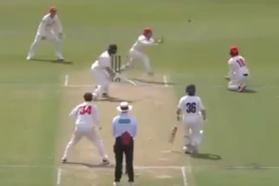 Sheffield Shield: Will Pucovskis Unlucky Dismissal On 82 - Watch