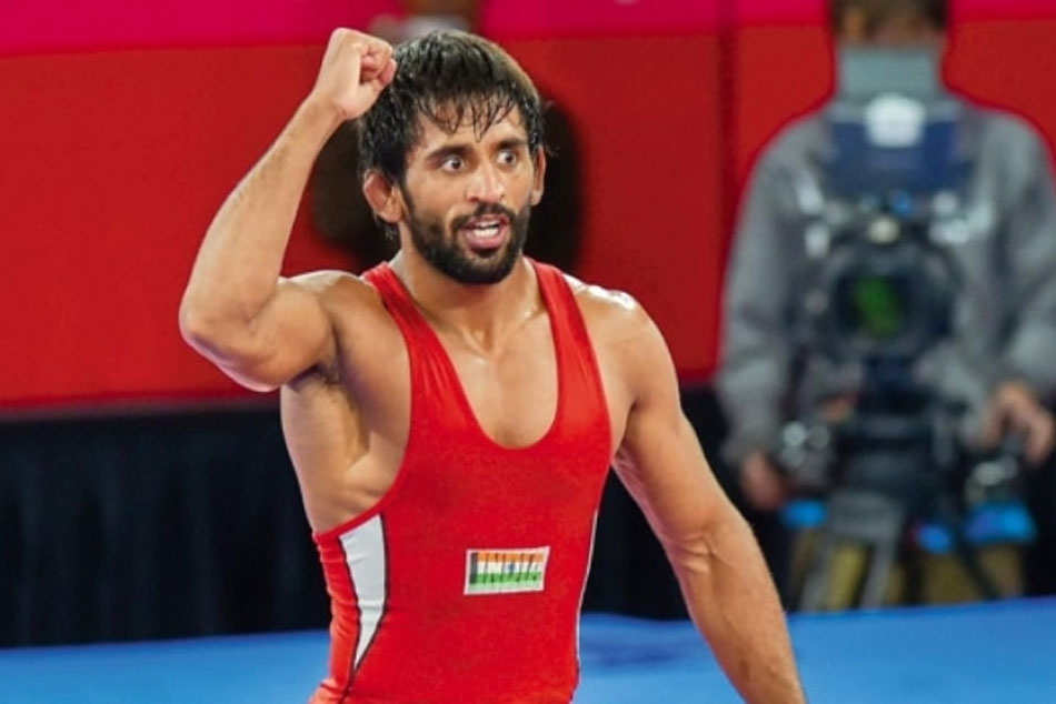 Bajrang Punia Wins Gold Medal at Asian Wrestling Championships