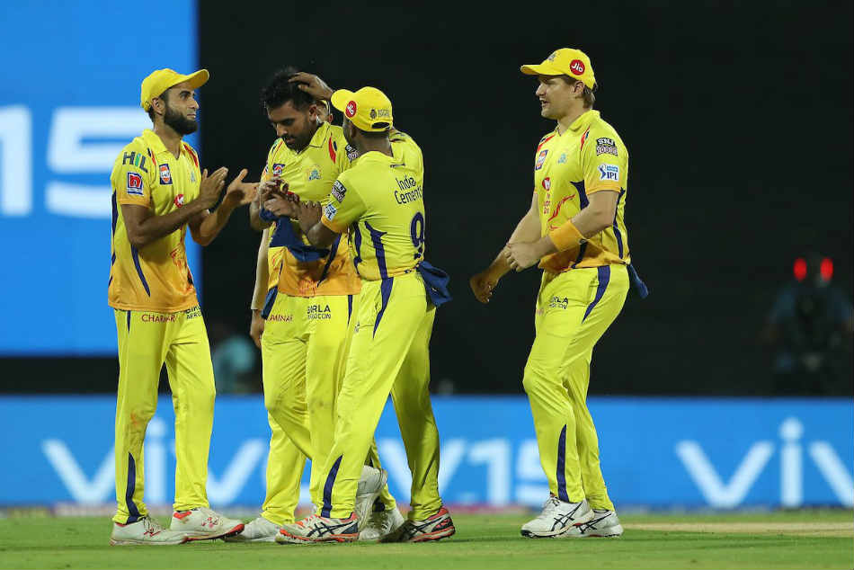 Ipl 2019 Csk Vs Kxip Ipl Score Chennai Super Kings Won By 22 Runs