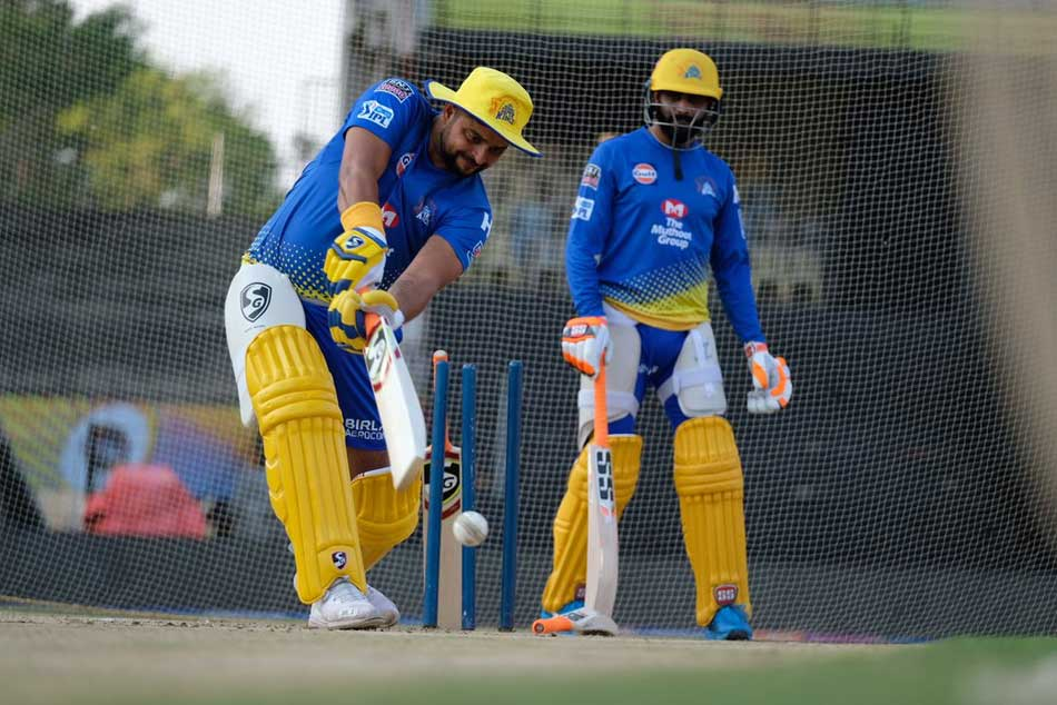 Ipl 2019 Csk Players Sweat It Out In Practice Session