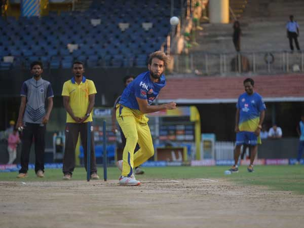 IPL 2019: CSK players sweat it out in practice session