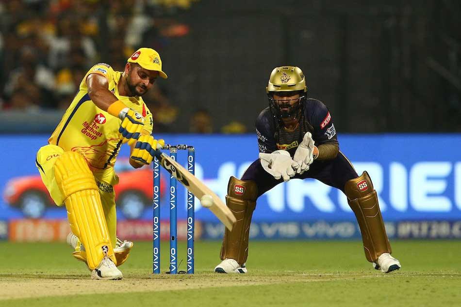 Csk Vs Kkr Suresh Raina Gets Fifty Chennai Won By 5 Wkts