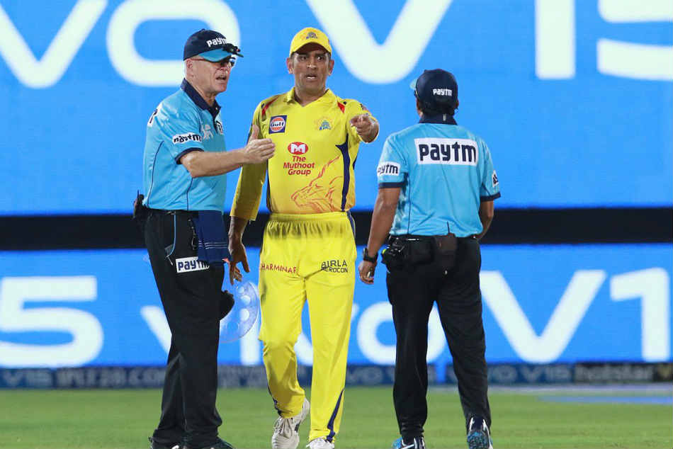MS Dhoni fined after fierce on-field argument with umpires
