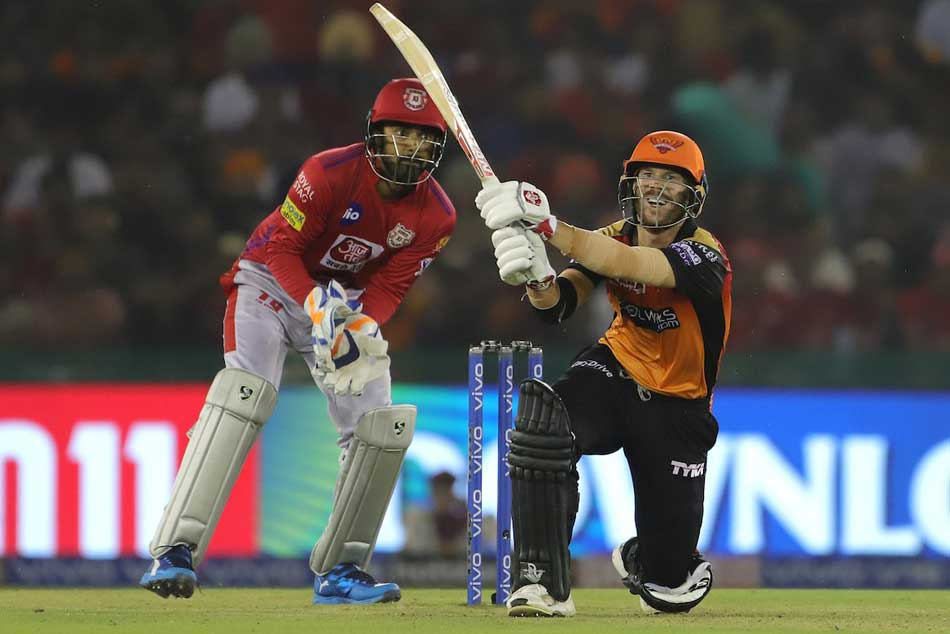 David Warner registers unique record with fifty against Kings XI Punjab