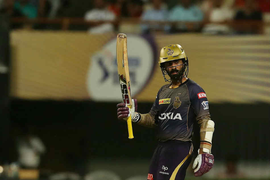 Ipl 2019 Kkr Vs Rr Live Score Dinesh Karthik Scores 97 As Kolkata Post 175 6 In 20 Overs