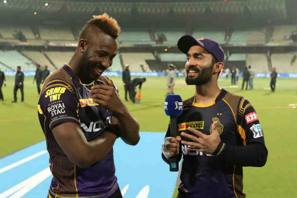 Ipl 2019 Kkr Captain Dinesh Karthik Mighty Impressed With Andre Russells Maturity And Attitude