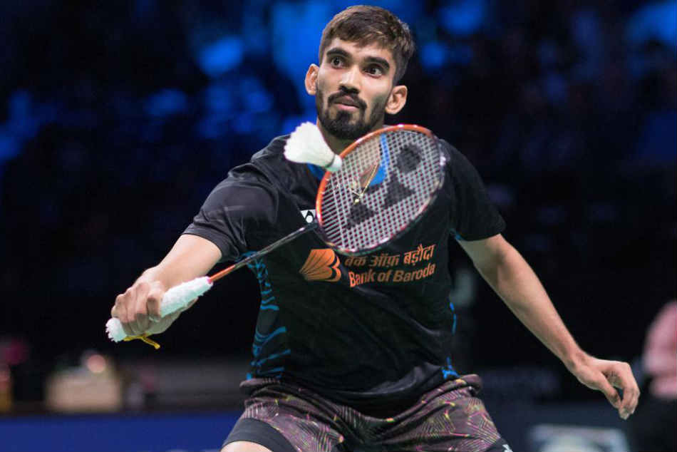Badminton Kidambi Srikanth Slips To 8th Harsheel Dani Jumps 22 Spots In Bwf Rankings