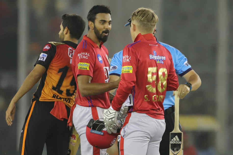 Kl Rahul S Unbeaten Fifty Guides Kxip Home Against Sunrisers Hyderabad In Tense Finish