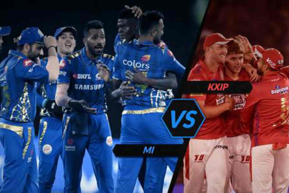 Ipl 2019 Mi Vs Kxip Live Score Mumbai Indians Win The Toss And Field