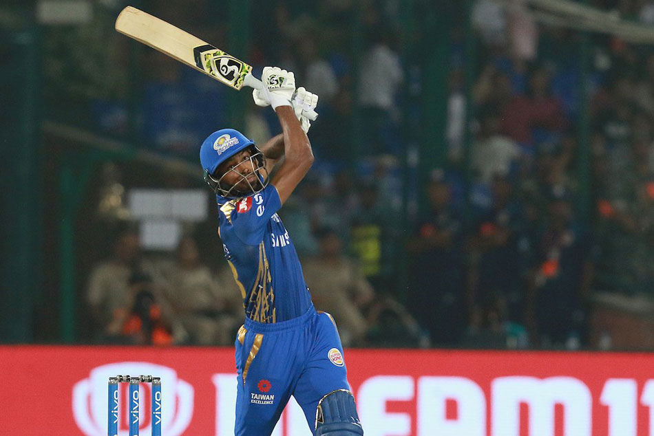 Ipl 2019 Dhoni Liked My Version Of Helicopter Shot Hardik Pandya