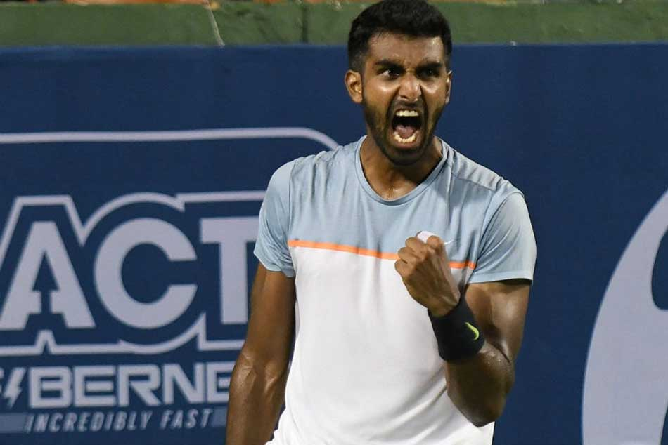 Prajnesh Gunneswaran Gets Career Best Ranking Of 75