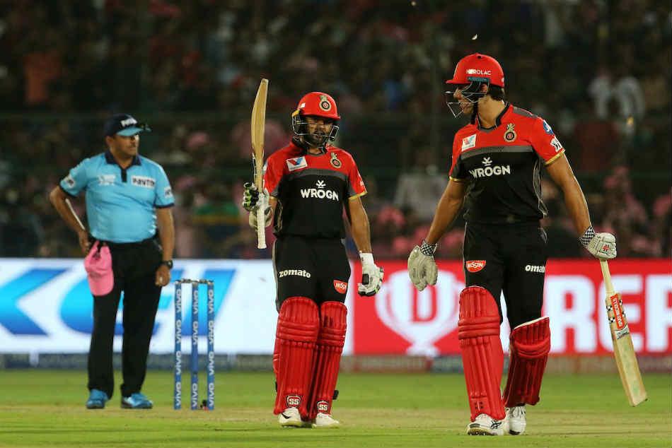 Ipl 2019 Rr Vs Rcb Live Updates Rajasthan Royals Require 159 Runs To Win