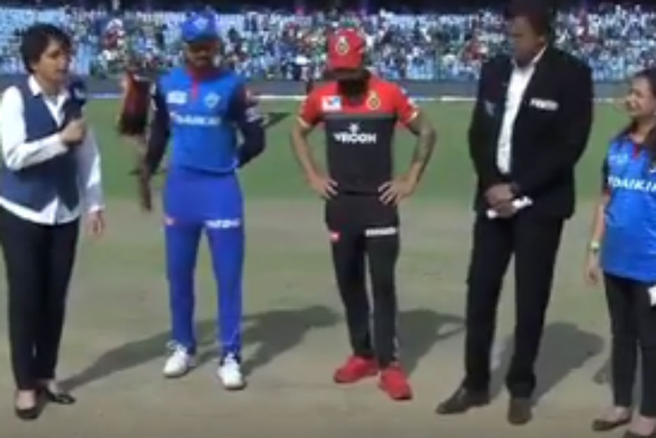 Ipl 2019 Rcb Vs Dc Delhi Capitals Have Won The Toss And Have Opted To Bat