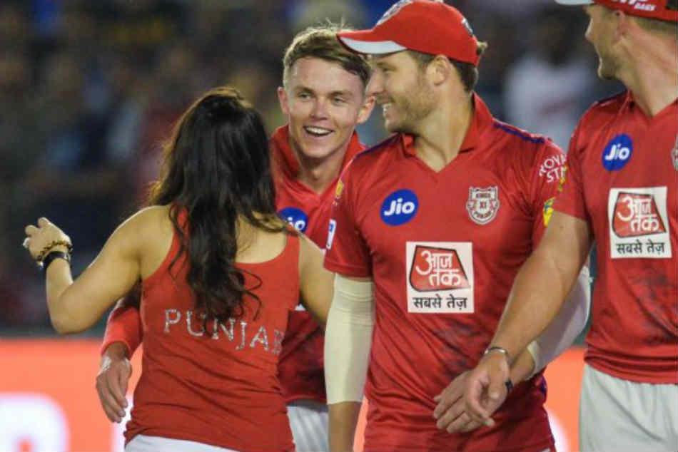 Ipl 2019 Sam Curran And Preity Zinta Celebrate Kxip Win In Punjabi Style