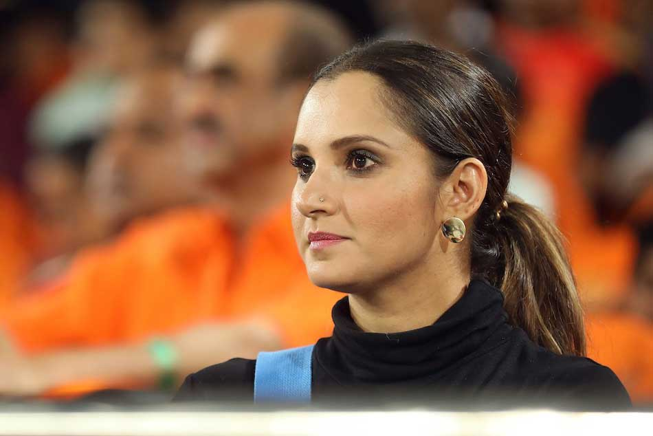 Csk Vs Srh Sania Mirza Sumanth Sushanth Cheering For Srh