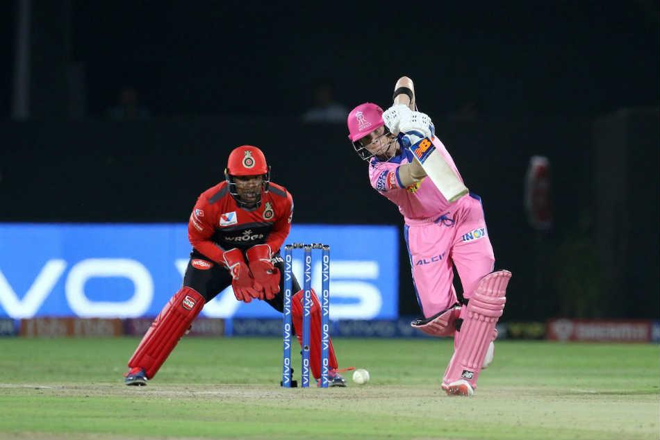 Ipl Live Score Rr Vs Rcb Ipl Score Steve Smith Rahul Tripathi Lead Rajasthan Royals Chase Of