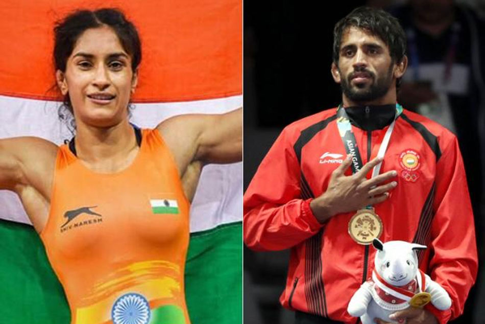 Vinesh Phogat And Bajrang Punia Recommended For Khel Ratna By Wrestling Federation