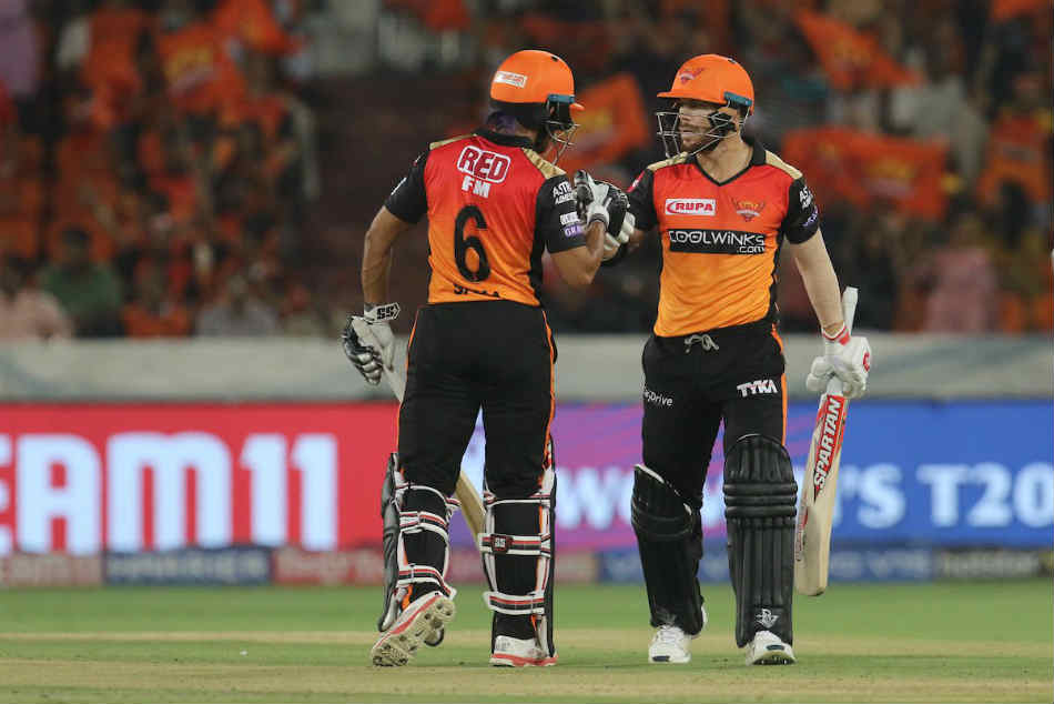 Ipl 2019 Srh Vs Kxip Live Score David Warner 81 Gives Sunrisers Hyderabad