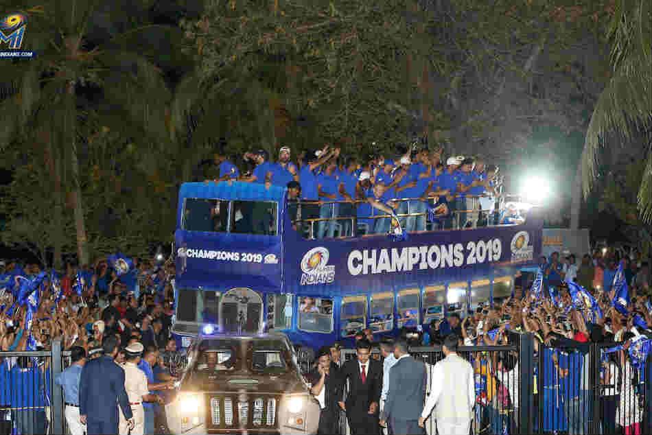 Ipl 20019 Csk Vs Mi Rohit Sharma Led Mumbai Indians Carry Out Victory