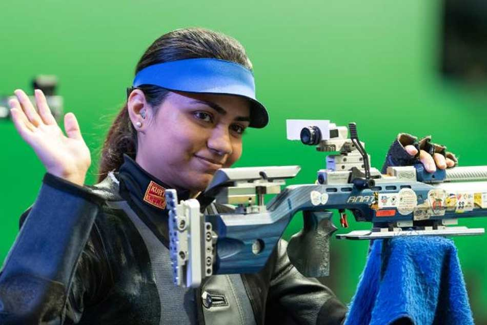 Issf Shooting World Cup Apurvi Chandela Bags 10m Air Rifle Gold In Munich