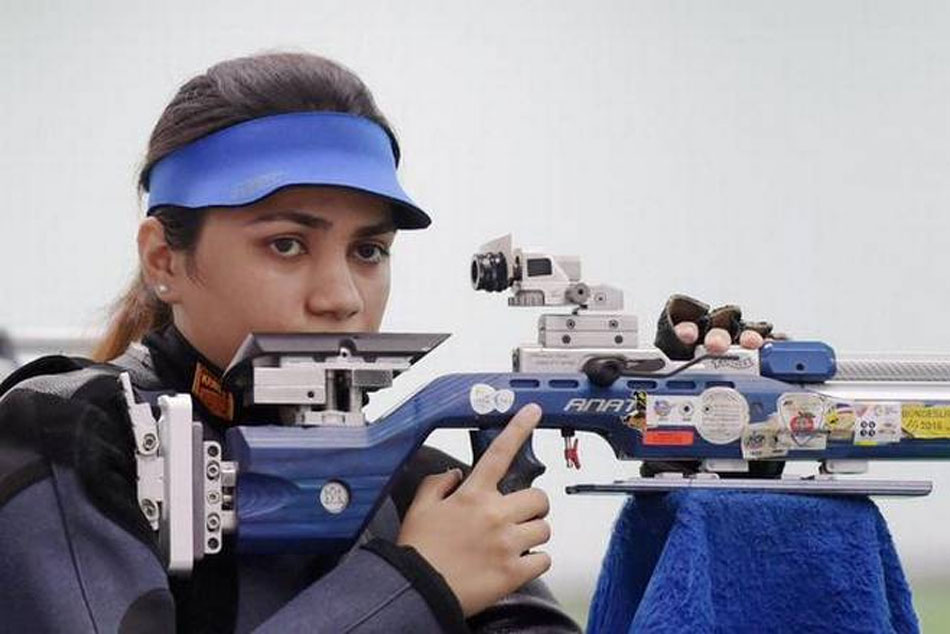 Apurvi Chandela is world number one in 10m air rifle, Anjum gets second position