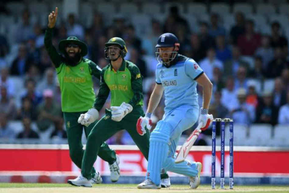 England vs South Africa Live Score, World Cup 2019: Imran Tahir removes Bairstow, England one down