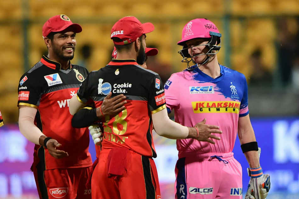 Ipl 2019 Match Called Off Due To Rain Bangalore Rajasthan Settle For A Draw
