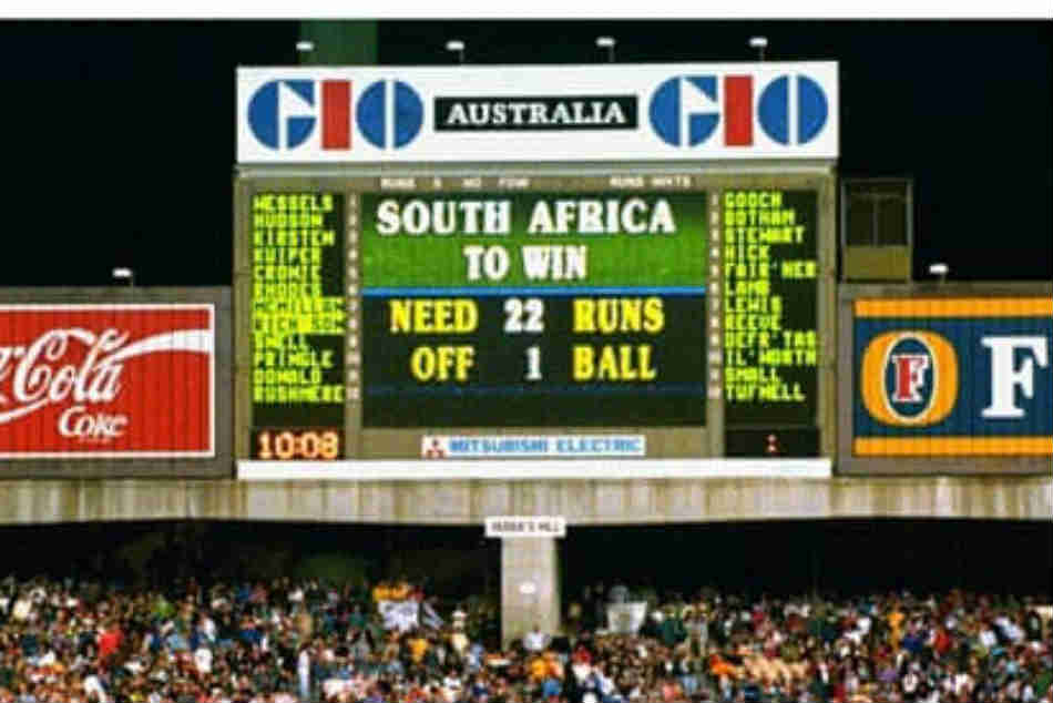 22 March 1992: Rain saves England in World Cup semi-final