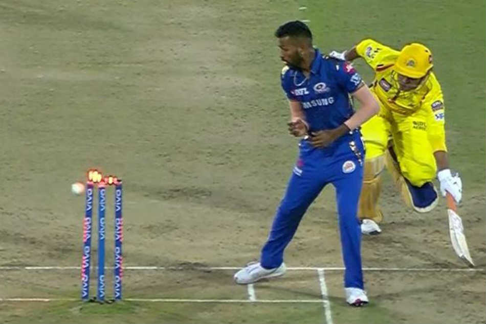 IPL Final: MS Dhoni run out drama costs CSK title - Watch