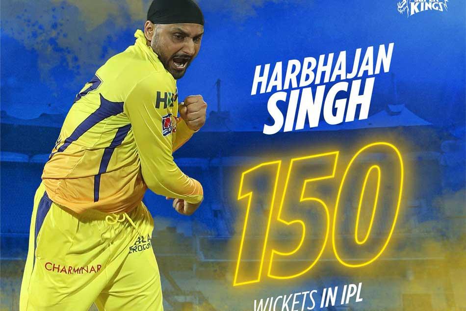 Ipl 2019 Csk Vs Dc Harbhajan Singh Achieves Big Milestone Becomes Fourth Bowler