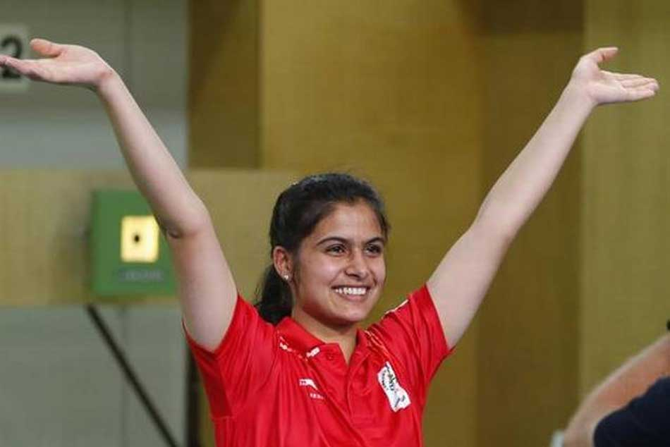 Manu Bhaker Wins Air Pistol Olympic Quota