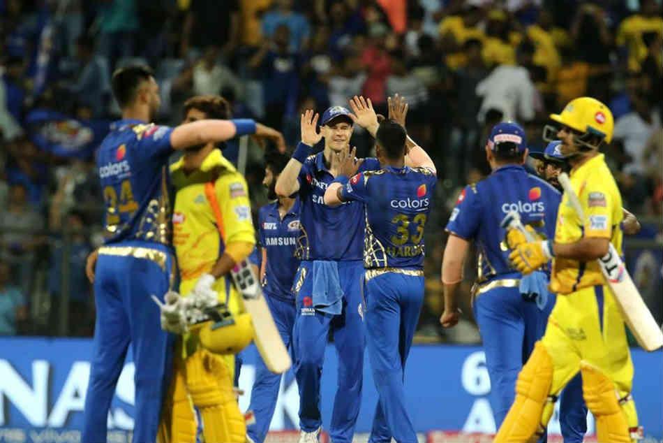 Ipl 2019 Qualifier 1 Mumbai Indians Vs Chennai Super Kings Statistical Highlights