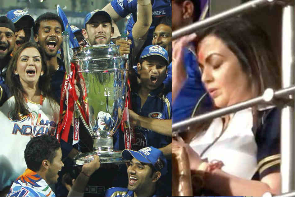 IPL 20019, CSK vs MI: Nita Ambani trolled For Tensed Reactions After Mumbai Indians Beat Chennai Super Kings in Final