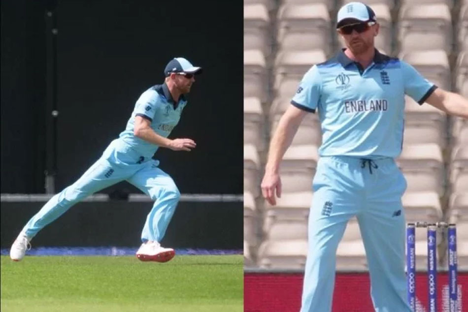 Icc Cricket World Cup 2019 Paul Collingwood Takes Field During Warm Up Game After Injury