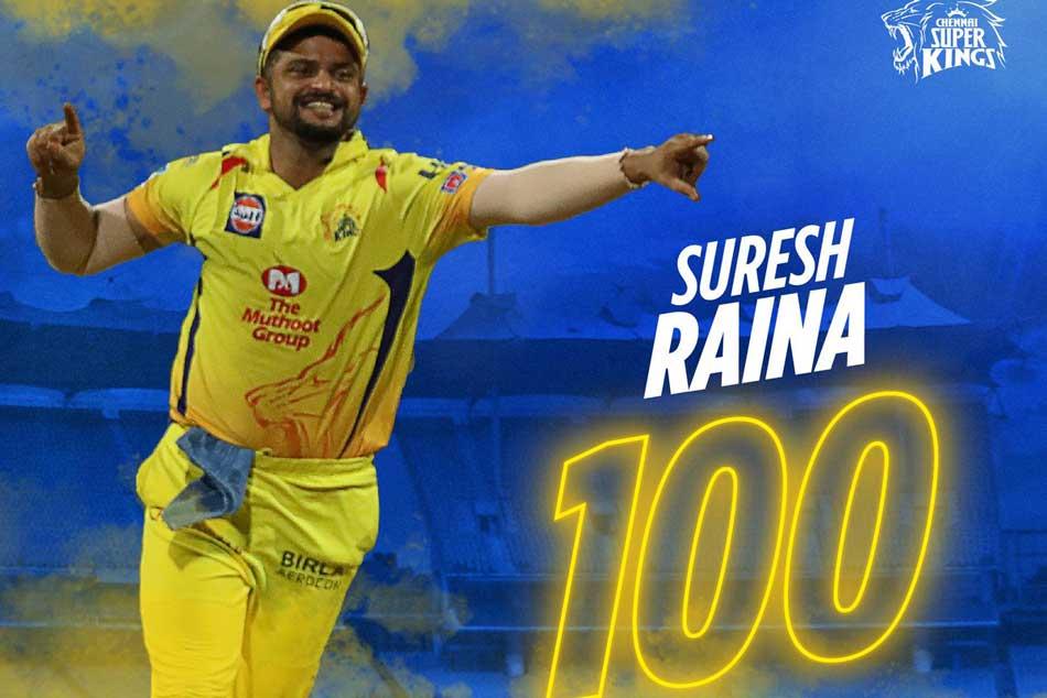 Ipl 2019 Csk Vs Dc Suresh Raina 1st Fielder To Take 100 Catches In Ipl