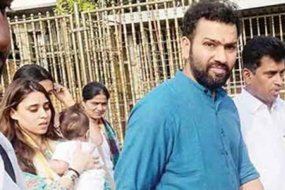 Team Indian Cricketer Rohit Sharma Irritated By His Fan At Tirumala