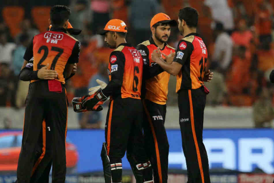 Ipl 2019 Sunrisers Hyderabad 1st Team To Reach Playoffs With Only 12 Pionts