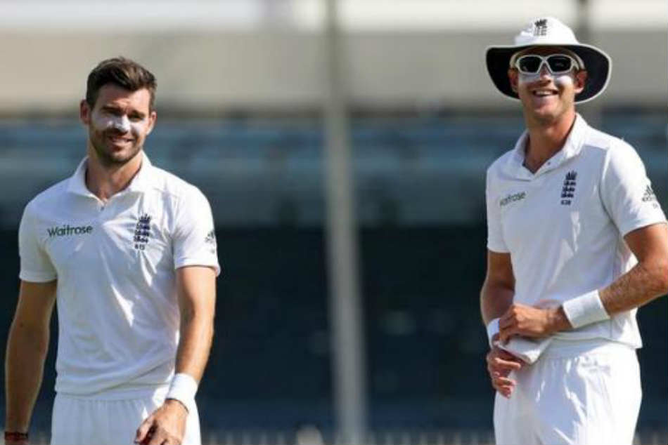 Shes beautiful: James Anderson thought on 1st meeting Stuart Broad